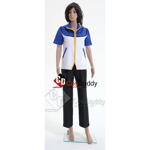 Pokemon Ash Ketchum Cosplay Costume Style B