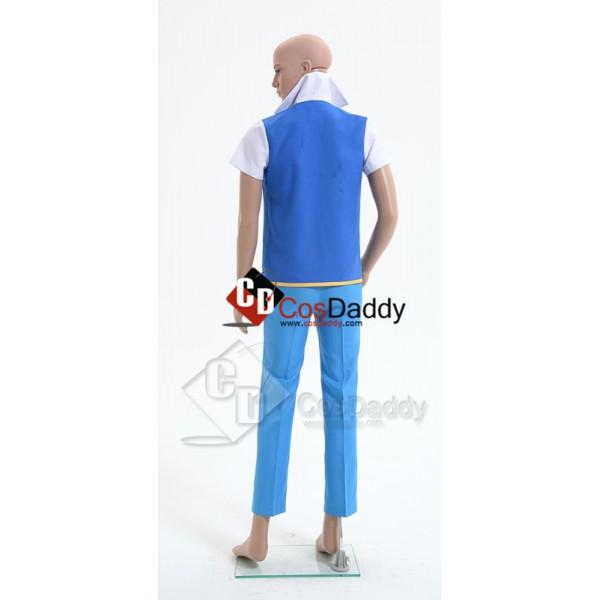 Pokemon Ash Ketchum Cosplay Costume Style C