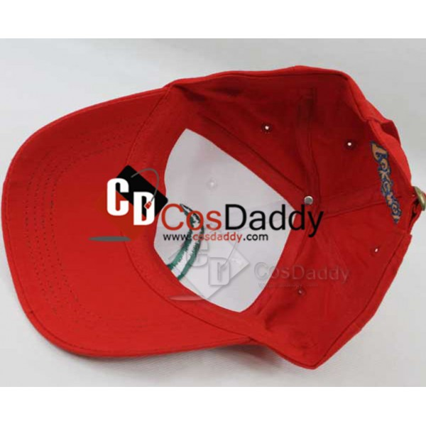 Pokemon Satoshi Ash Ketchum Baseball Cap Hat A