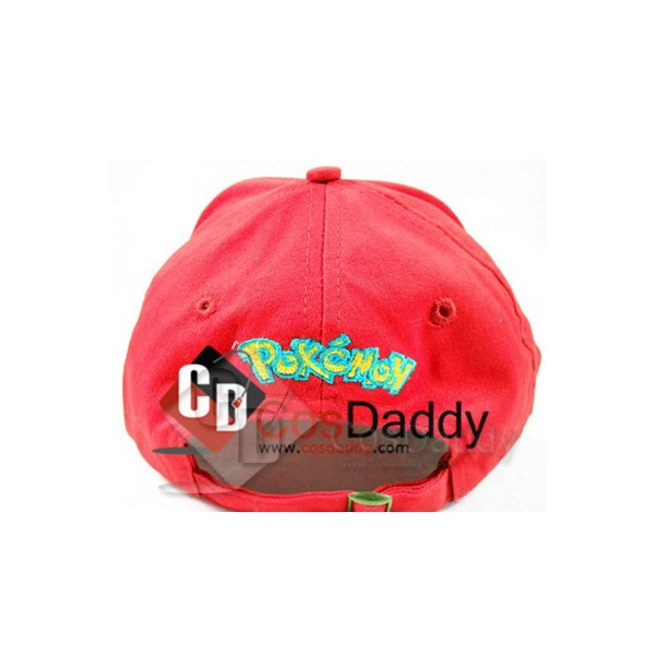 Pokemon Satoshi Ash Ketchum Baseball Cap Hat C