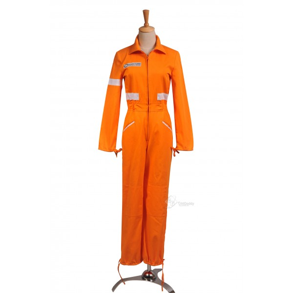Portal 2 Chell's Jumpsuit Cosplay Costume