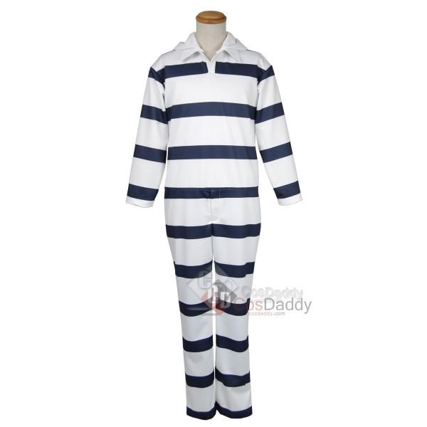 Prison School Kangoku Gakuen Prison Suit Uniform C...