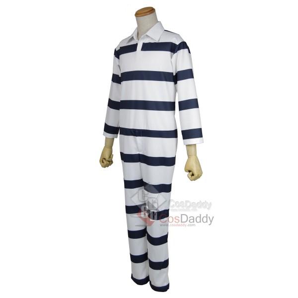 Prison School Kangoku Gakuen Prison Suit Uniform Cosplay Costume
