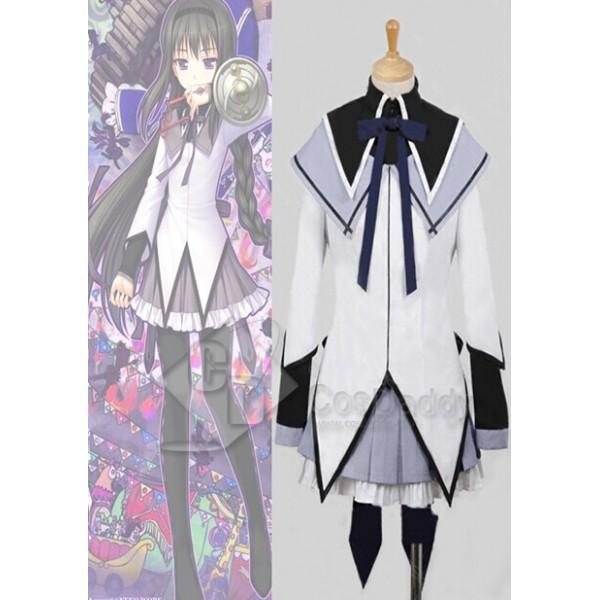 Puella Magi Madoka Magica Homura Akemi Dress Cosplay Costume