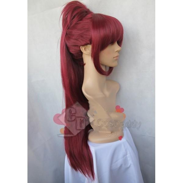 Puella Magi Madoka Magica Kyoko Sakura Cosplay Wig