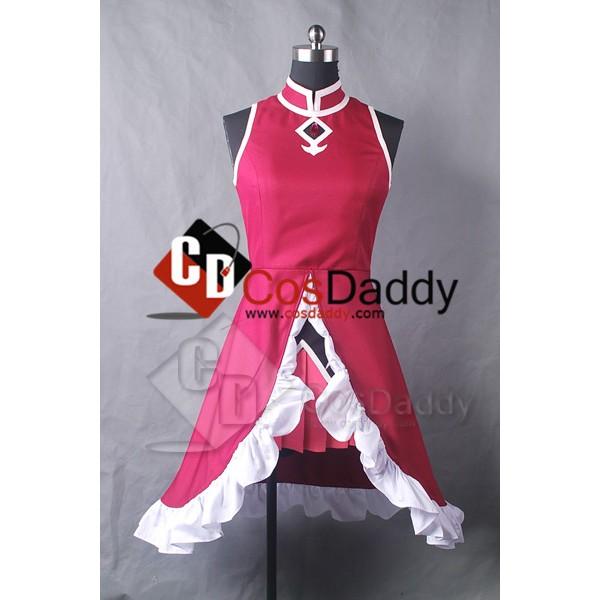 Puella Magi Madoka Magica Kyoko Sakura Dress Cospl...