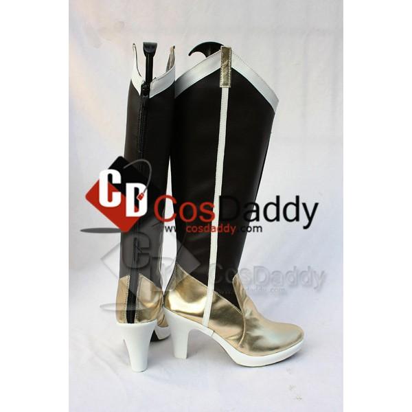 Puella Magi Madoka Magica Mami Tomoe Cosplay Boots Shoes