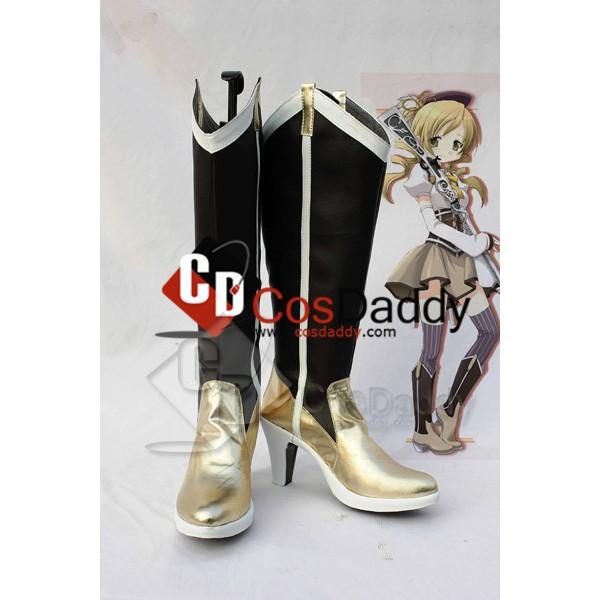 Puella Magi Madoka Magica Mami Tomoe Cosplay Boots...