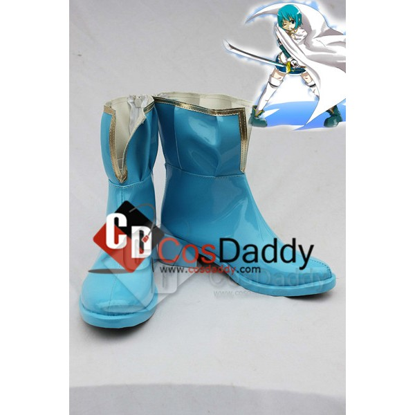 Puella Magi Madoka Magica Miki Sayaka Cosplay Boot...