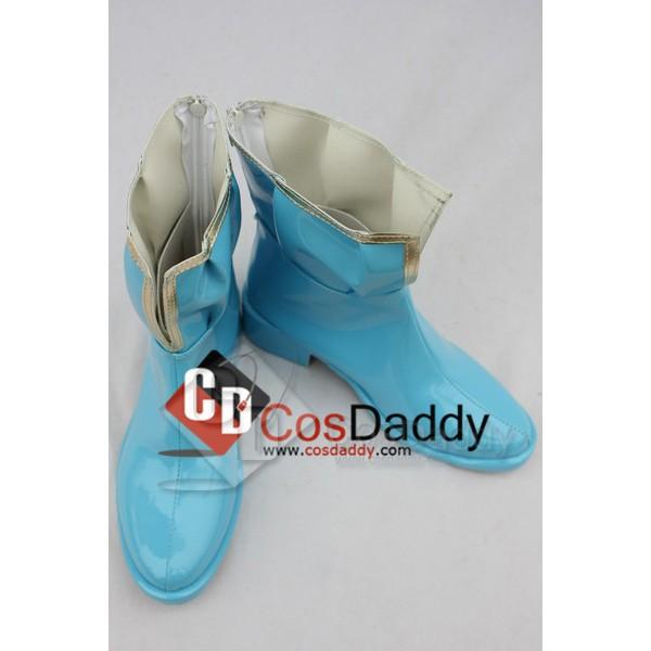 Puella Magi Madoka Magica Miki Sayaka Cosplay Boots Shoes
