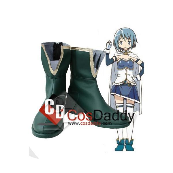 Puella Magi Madoka Magica Miki Sayaka Cosplay Shoe...