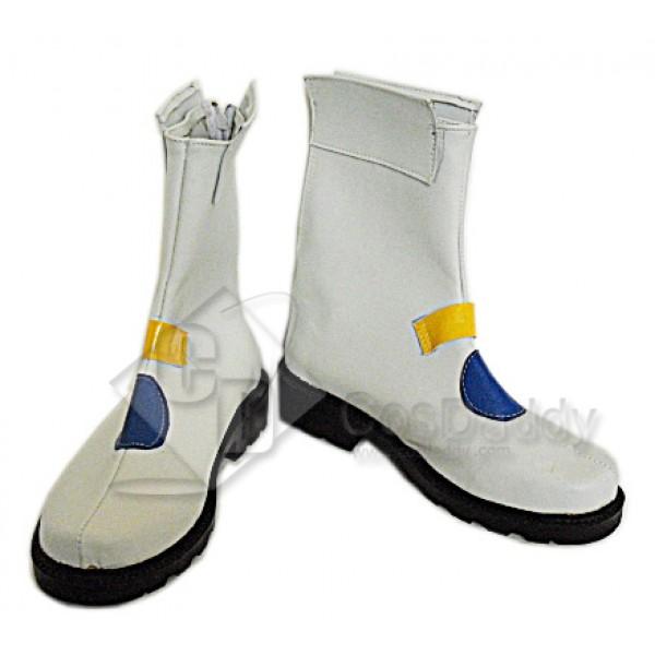 Puella Magi Madoka Nanoha Takamach Boots shoes Version 2