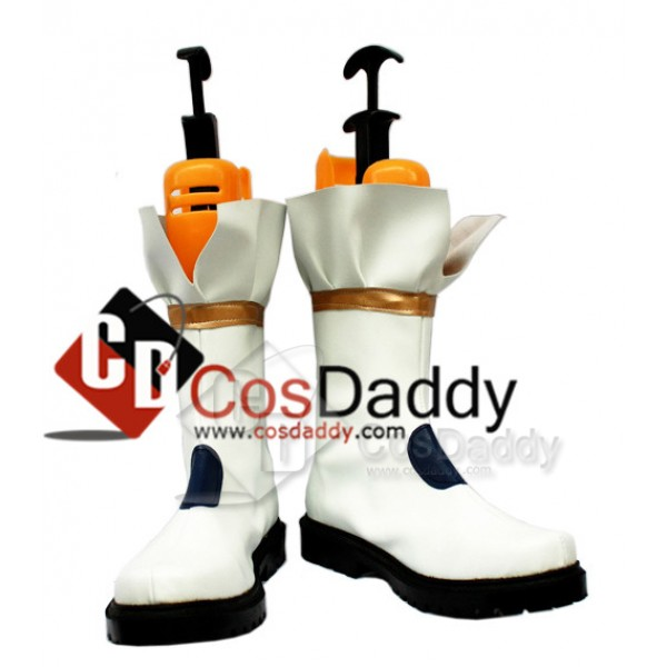 Puella Magi Madoka Nanoha Takamach Boots shoes Ver...