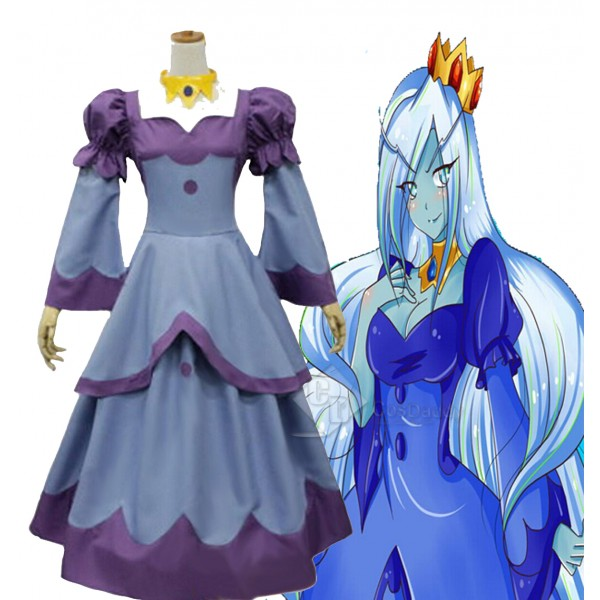 Queen from Adventure Time Uniform Dress Outfit Cosplay Costume