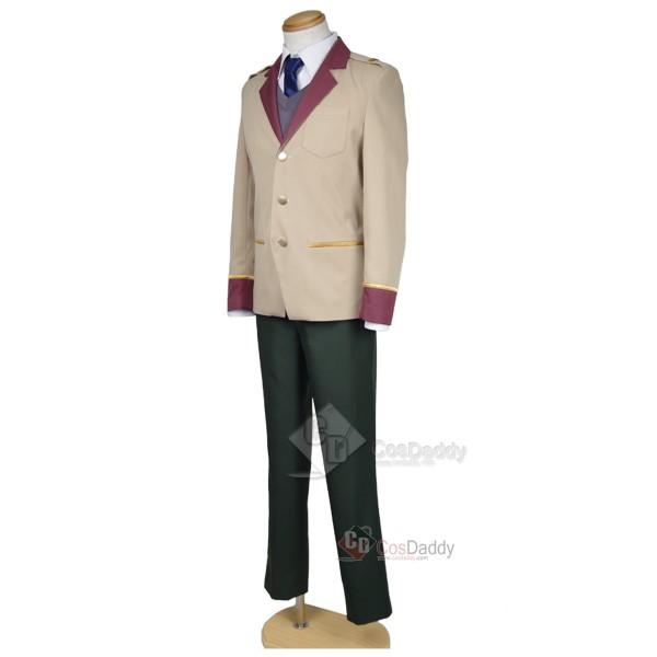 Rampo Kitan: Game of Laplace Souji Hashib Uniform Cosplay Costume