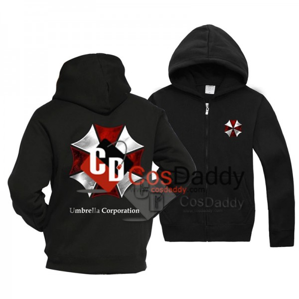 Resident Evil Biohazard Umbrella Corporation Black...