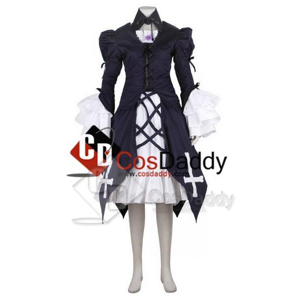 Rozen Maiden Suigintou Mercury Lampe Cosplay Costume