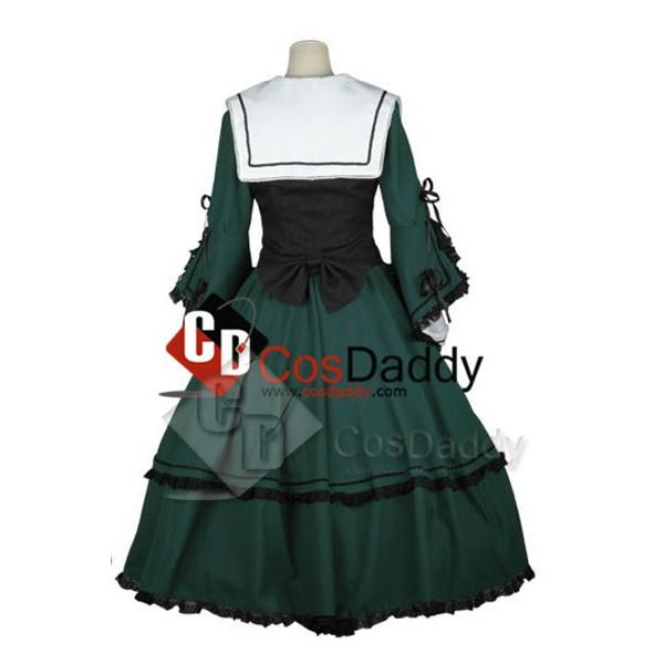 Rozen Maiden Suiseiseki Jade Stern Cosplay Costume
