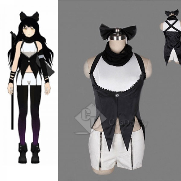 RWBY Blake Belladonna Uniform Dress Cosplay Costume