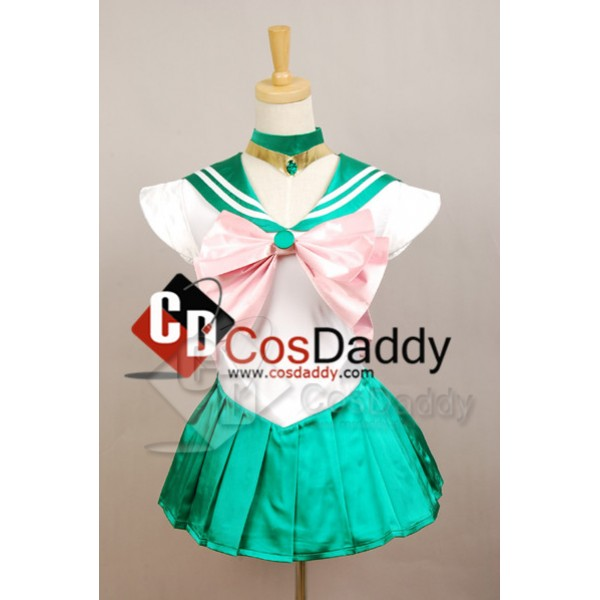 Sailor Moon Jupiter Dress Cosplay Costume