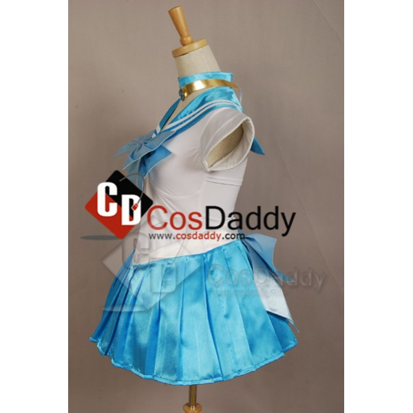 Sailor Moon Mercury Dress Cosplay Costume