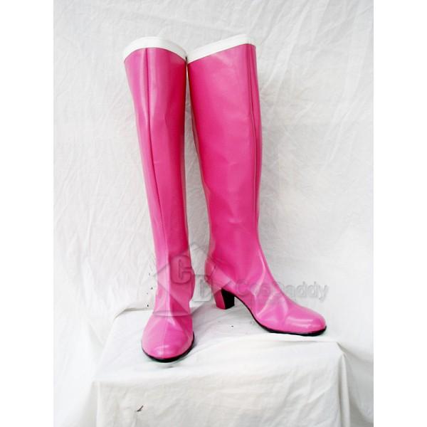 Sailor Moon Tsukino Usagi Cosplay Boots Shoes Custom Made