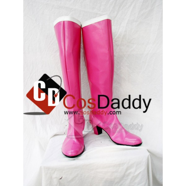 Sailor Moon Tsukino Usagi Cosplay Boots Shoes Cust...
