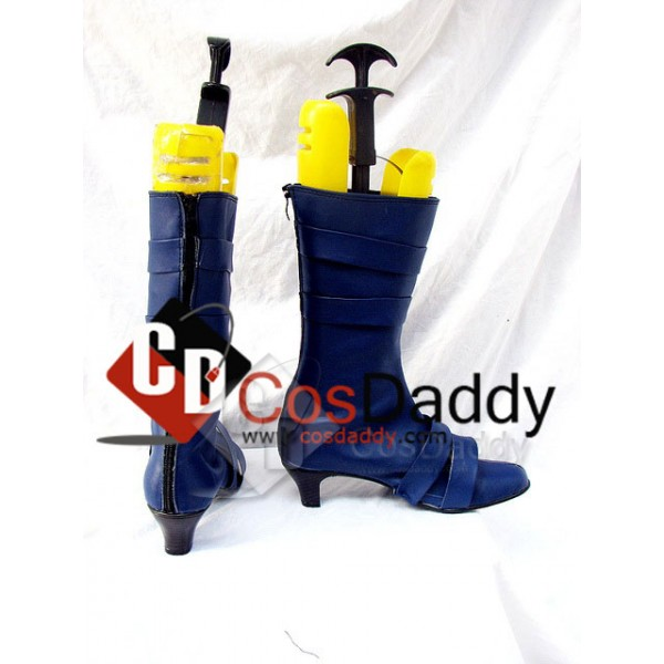 Sailor Moon Uranus Cosplay Boots Shoes Custom Made