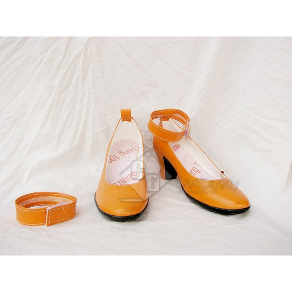 Sailor Moon Venus Cosplay Shoes Custom Made