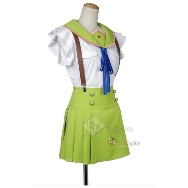 School-Live Gakkō Gurash Naoki Miki Uniform Cosplay Costume