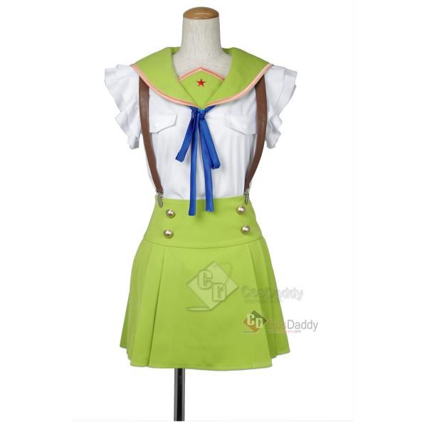 School-Live Gakkō Gurash Naoki Miki Uniform Cospl...