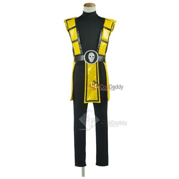 Mortal Kombat Ninja Scorpion Cosplay Costume