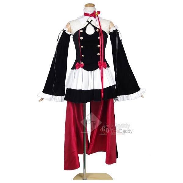 Seraph of the End Owari no Serafu Krul Tepes Vampire Queen Cosplay Costume