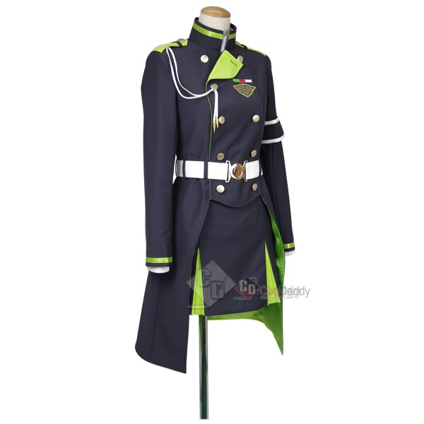 Seraph of the End Owari no Serafu Shigure Yukimi Cosplay Costume