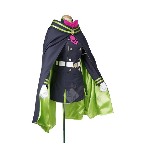 Seraph of the End Owari no Serafu Shinoa Hiragi Cosplay Costume