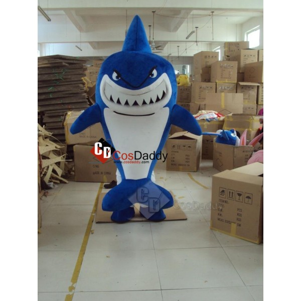 Shark Mascot Cosplay Costume