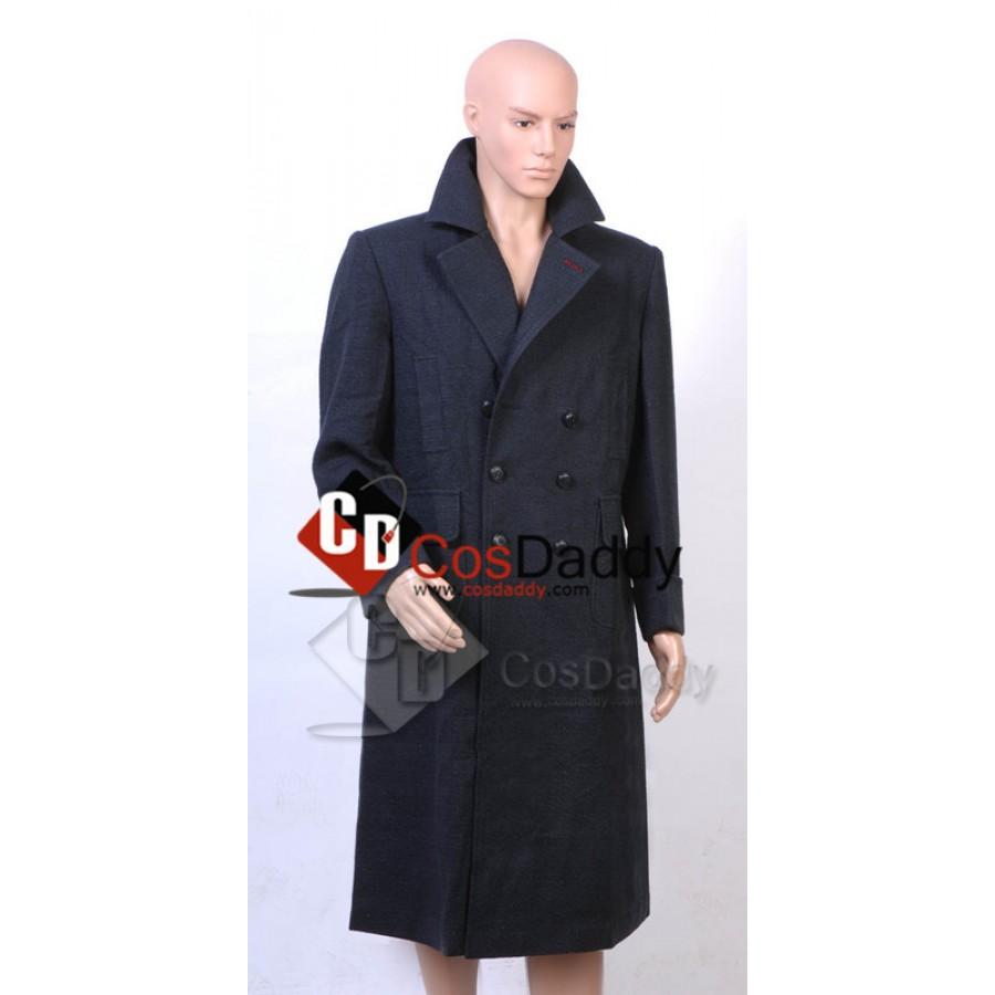 Sherlock Holmes Cape Coat Costume Wool Version  /<Custom Made/>