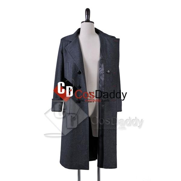 Sherlock Holmes Wool Coat Cosplay Costume