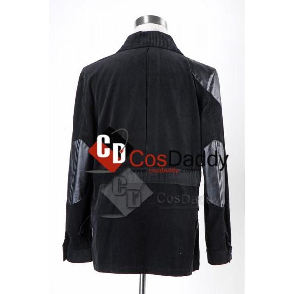 Sherlock Holmes Dr. John Watson Black Jacket Cosplay Costume
