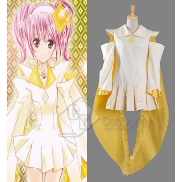 Shugo Chara! My Guardian Characters Amu Hinamori Cosplay Costume