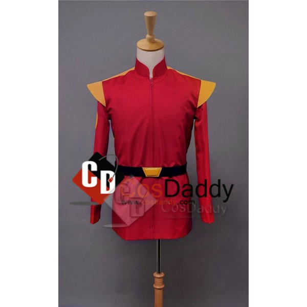 Sitcom Futurama Captain Zapp Brannigan Red Uniform Cosplay Costume