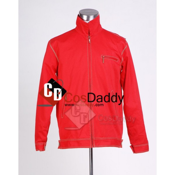 Smallville Clark Kent Red Jacket Cosplay Costume