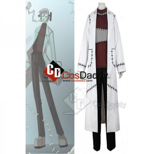 Soul Eater Franken Stein Doctor Cosplay Costume