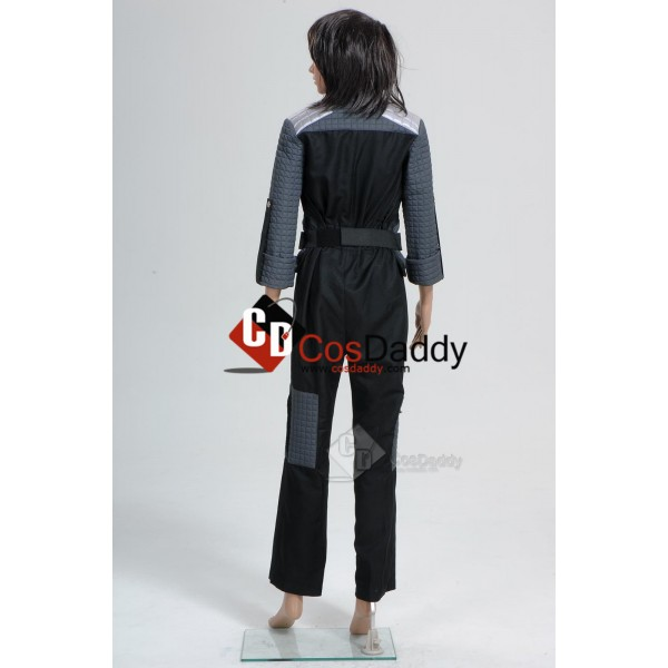 Spy Kids 4 All the Time in the World Rebecca Cecil Wils Uniform Cosplay Costume