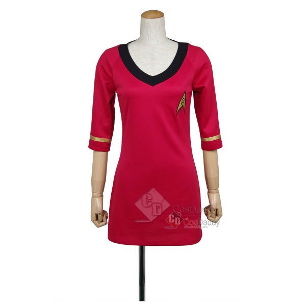 Star Trek TOS the Original Series Duty Red Dress U...