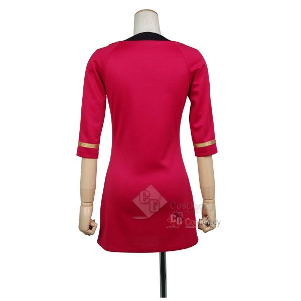 Star Trek TOS the Original Series Duty Red Dress Uniform