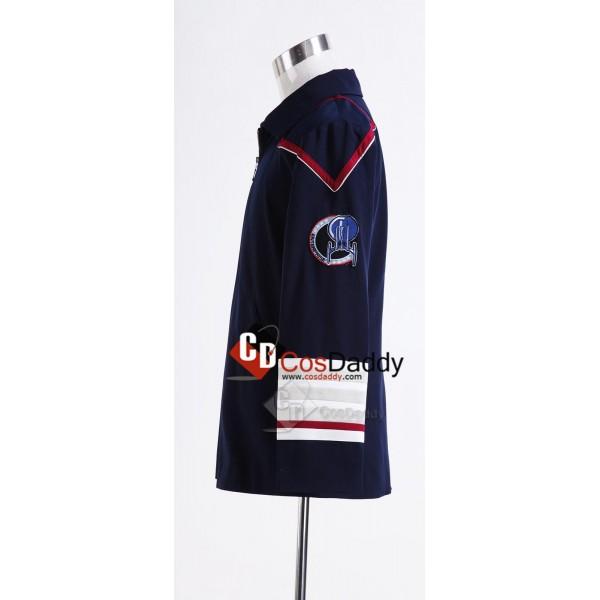 Star Trek Enterprise Admiral Navy Blue Cosplay Costume