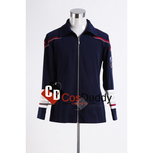 Star Trek Enterprise Admiral Navy Blue Cosplay Cos...