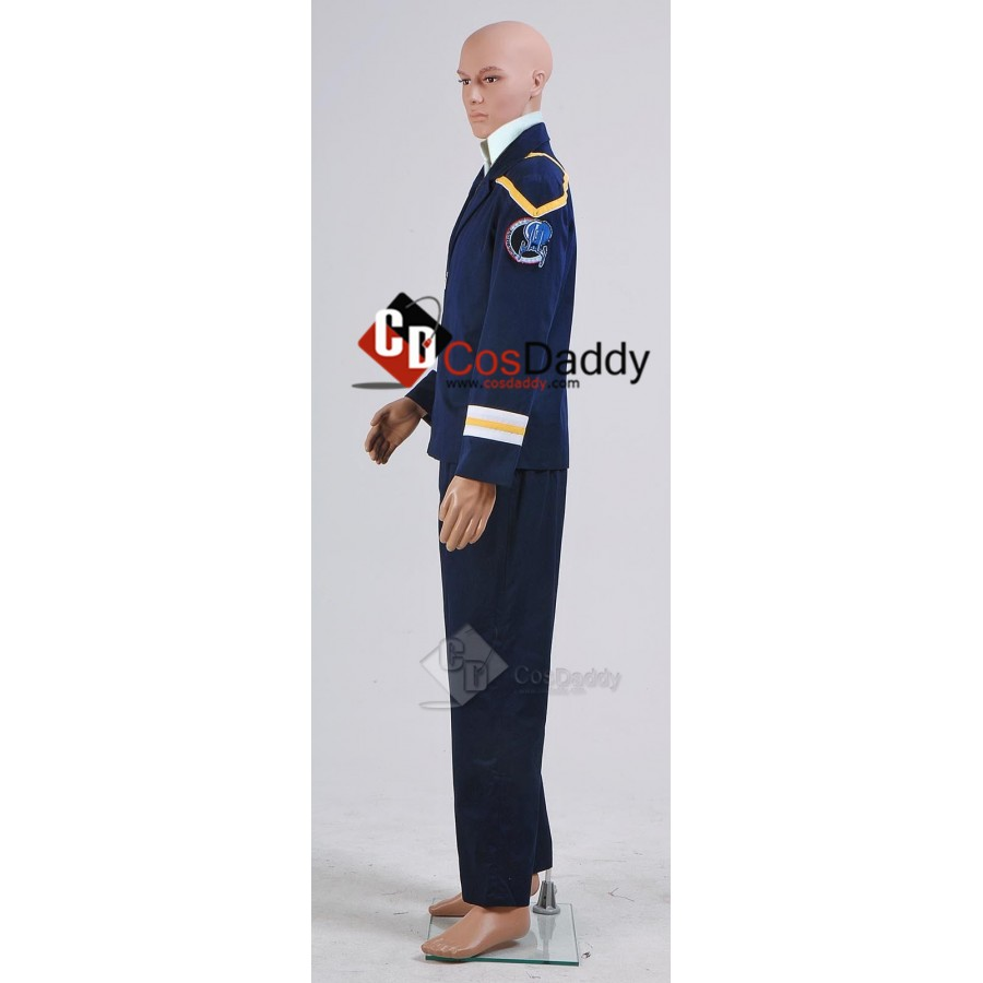 Star Trek Enterprise Archer Outfit Blue Duty Uniform Halloween Cosplay costume