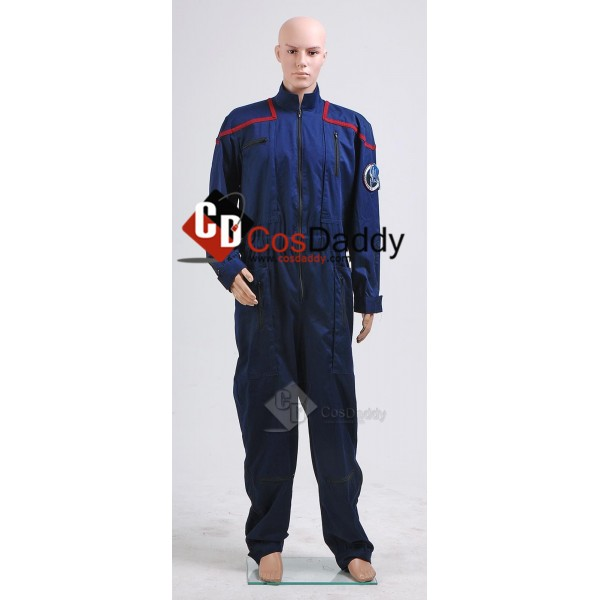 Star Trek Enterprise Commander Charles Jumpsuit Cosplay Costume